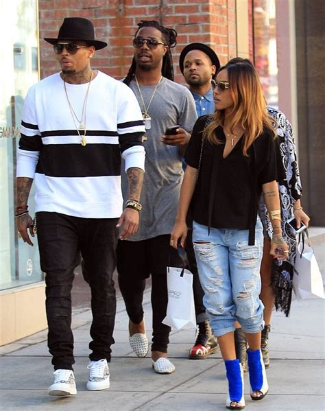 Chris Brown Wardrobe by Wardrobe Query Karrueche S Shopping Trip Opening