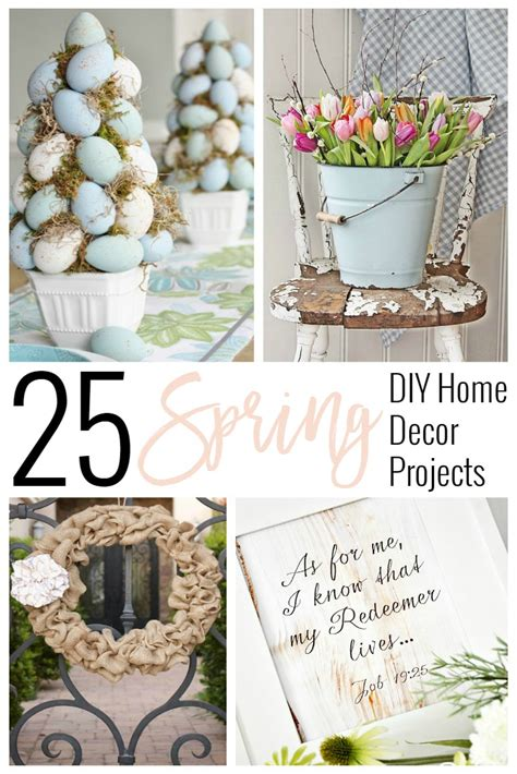 diy spring home decor 25 spring diy home decor projects sincerely jean