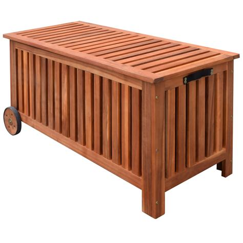 garden storage bench wooden outdoor storage bench deck box garden wooden patio porch