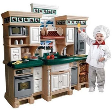 child kitchen 5 gourmet play kitchens for gift suggestion 13 voice