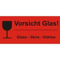 Paket Zerbrechlich Aufkleber Dhl by Vorsicht Glas Verpackungskennzeichen Aufkleber Shop