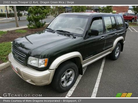 dragon ls for sale dragon green mica 2002 isuzu trooper ls 4x4 beige