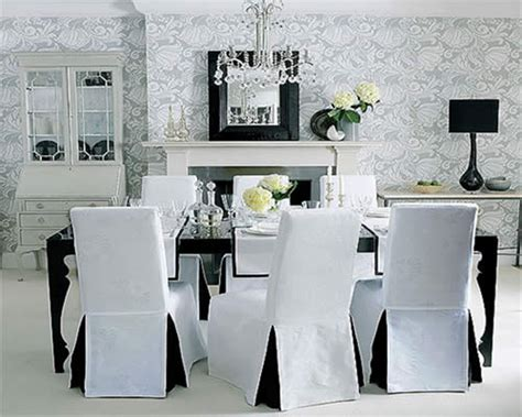 elegant christmas dining room chair covers on dining room
