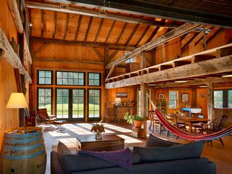 pole barn home interiors 10 rustic barn ideas to use in your contemporary home freshome
