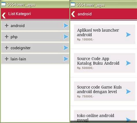aplikasi untuk membuat toko online aplikasi toko online android ecommerce mobile berbasis