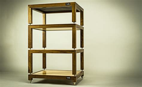 trellis audio racks furniture los