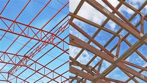 Roof Construction Cost Why Steel Roof Truss Is Better Than Timber Truss
