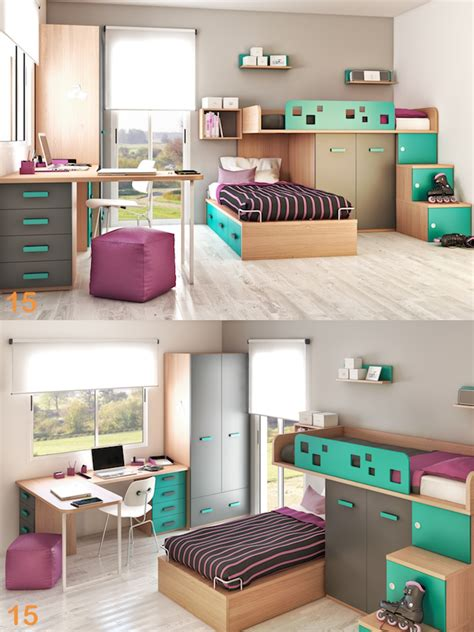 habitaciones juveniles con escritorio mueble cuarto dormitorio juveniles escritorio silla