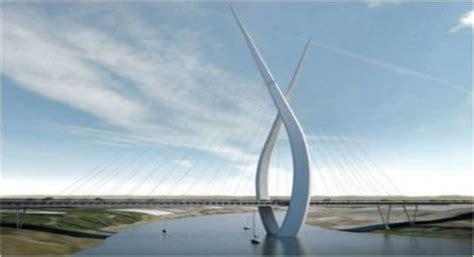 stylish skyways: 13 boldly futuristic bridge concepts