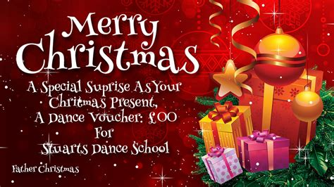 gift vouchers xmas weddings presents