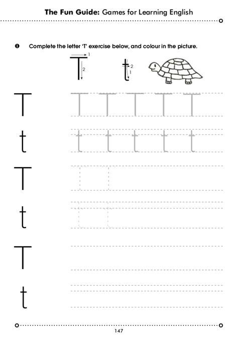Letter T Worksheets For Pre K by Variadas Gu 237 As En Ingl 233 S Esl Worksheets