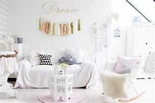 une chambre de pastel