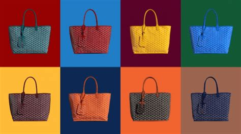goyard colors the goyard anjou bag feather factor