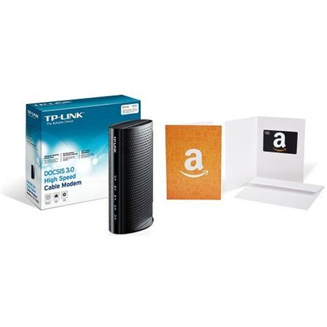 Time Warner Gift Card - tp link docsis 3 0 high speed cable modem certified for comcast xfinity and time