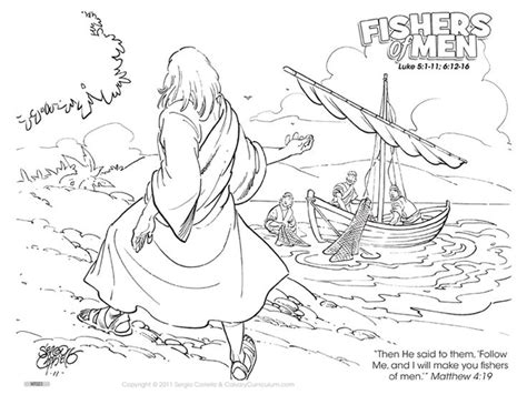 Fishers Of Coloring Pages fishers of color page fisher s of coloring pages