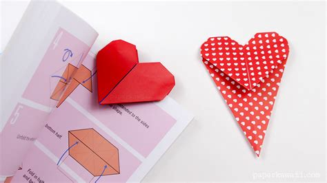 Easy Origami Bookmark - origami bookmark paper kawaii