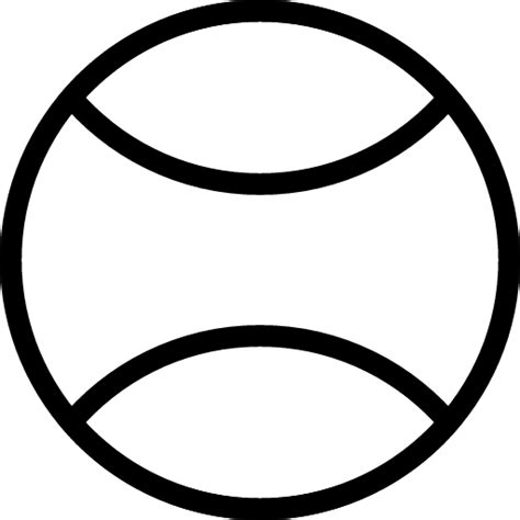 Balls Outline by Tennis Outline Cliparts Co