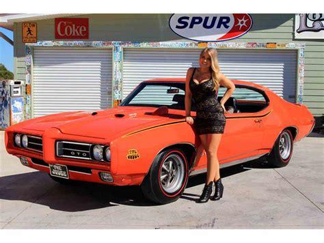 pontiac gto 1969 pontiac gto the judge for sale classiccars