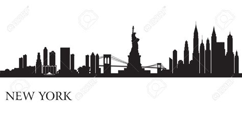 san francisco new york seattle en illustrations anim 233 es new york city skyline silhouette background vector