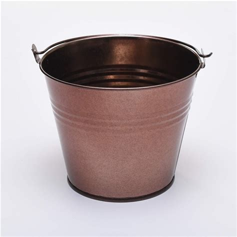 Small Metal Planter by Five 7cm Small Metal Buckets Pots Pails Tins Favours Herb Planter Sweet Tree Ebay