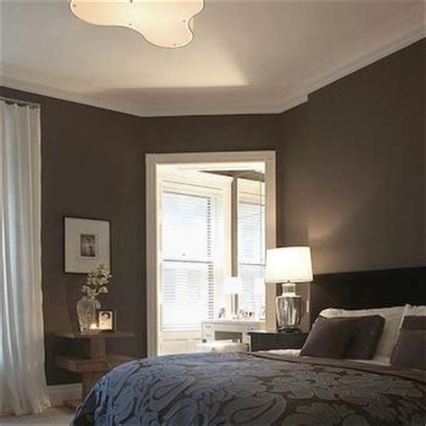 dark brown bedroom walls chocolate brown walls design ideas