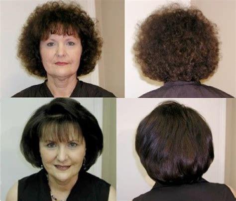 short hair blowouts brazilian blowout on short hair haircut trends