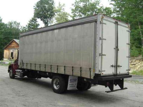 curtain side box truck kenworth t300 2008 van box trucks