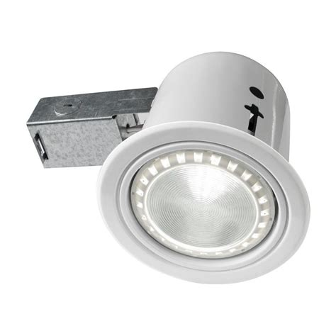 Recessed Lighting Insulated Ceiling bazz 4 5 in interior exterior white baffle recessed lighting fixture designed for insulated