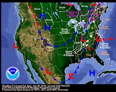 image weather map usa arctic blast hits canada and usa quot polar vortex quot takes aim
