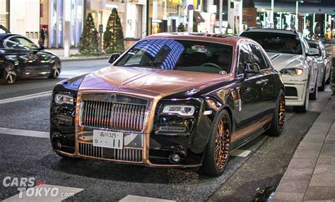 rose gold rolls royce 20 luxury cars in tokyo cars of tokyo