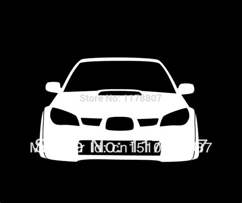 jdm car stickers wholesale wrx sti hawkeye jdm car sticker decal turbo