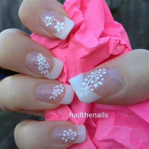 Nagel Aufkleber Hochzeit romantic wedding nail designs 18 elegant nail art ideas