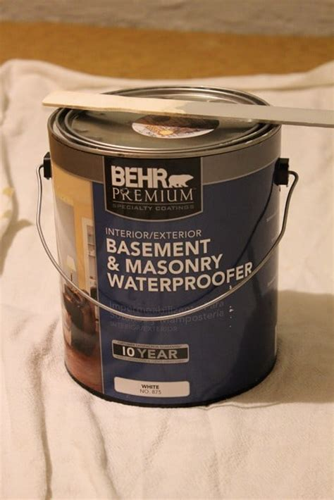 painting basement walls twofeetfirst