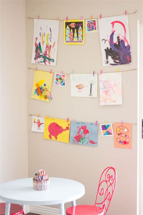 how to hang art on wall best 25 hanging kids artwork ideas on pinterest hang