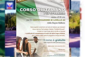 corso lingua italiana per carta di soggiorno a todi corso di italiano per adulti immigrati presso l