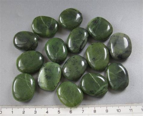 Premium Class Nephrite Jade Aaa nephrite jade aaa oval shape tumbled from canada