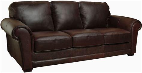 a leather sofa italian leather sofa from luke leather coleman