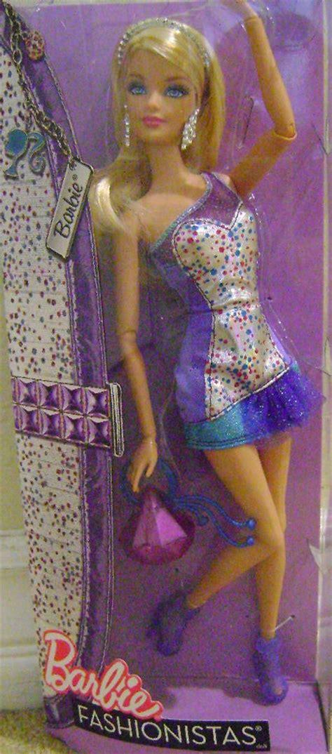 Tas Fashionable Gtf026 Purple fashionistas 2011 doll purple glam dress new ebay