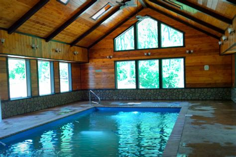 Hocking Cabins With Indoor Pool by The Western Lodge Woodland Ridge Cabins Lodges