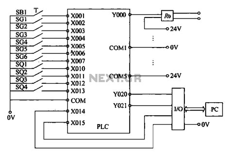 gt other circuits gt external wiring diagram of plc l58663