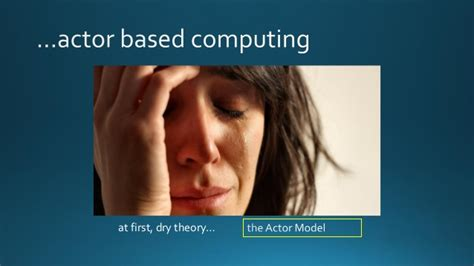actor model carl hewitt reactive programming in net actorbased computing with