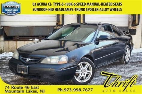 vehicle repair manual 1998 acura cl seat position control sell used 03 acura cl type s 190k 6 speed manual heated seats sunroof hid headls in mountain