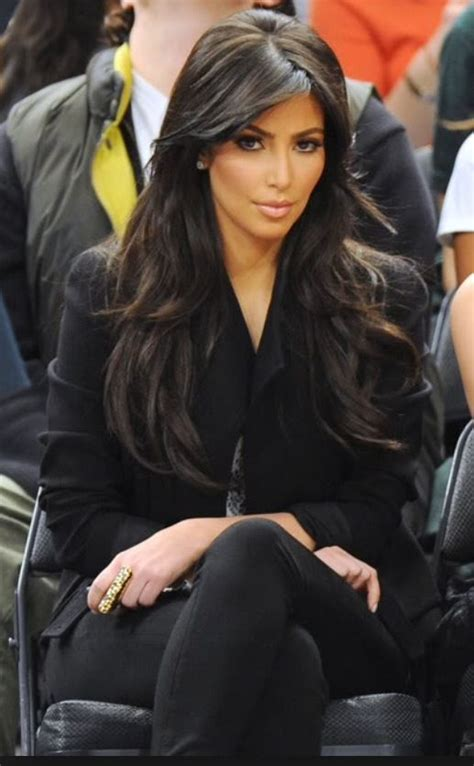 hairstyles for long hair kim kardashian best 20 layered side bangs ideas on pinterest