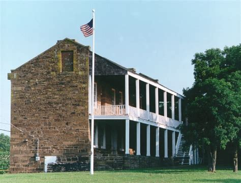 Fort Gibson Post Office by Fort Gibson Fort The Encyclopedia Of Oklahoma History
