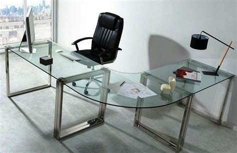 Glass Corner Desks by Glass Corner Desks Hostgarcia