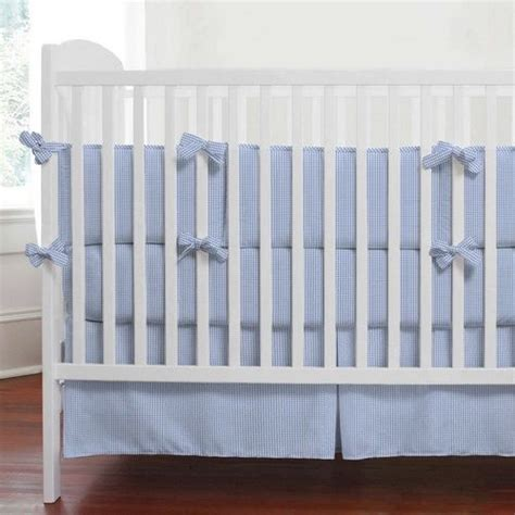 Blue Gingham Crib Bedding Pin By Bethany Maddox On Wizard Of Oz Nursery Decor Pinterest