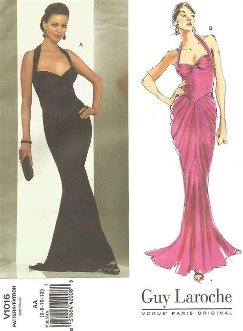 Dress Vogue vogue formal halter dress that is fitting