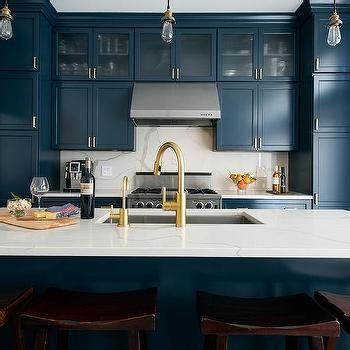 white  blue kitchen contemporary kitchen ici