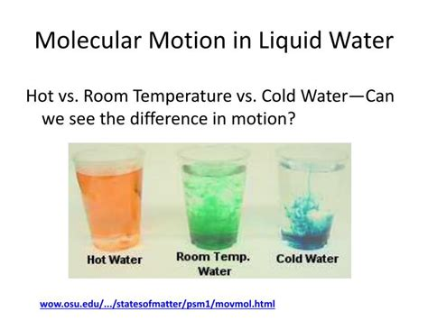 cold water vs room temperature water ppt what happens when w ater boils powerpoint presentation id 2776961