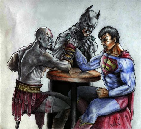 movie thor vs kratos kratos vs superman sketch by muhammedfeyyaz on deviantart